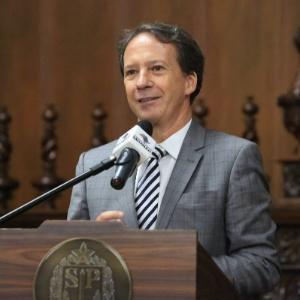 O secretário da Casa Civil do governo Alckmin, Edson Aparecido (PSDB)