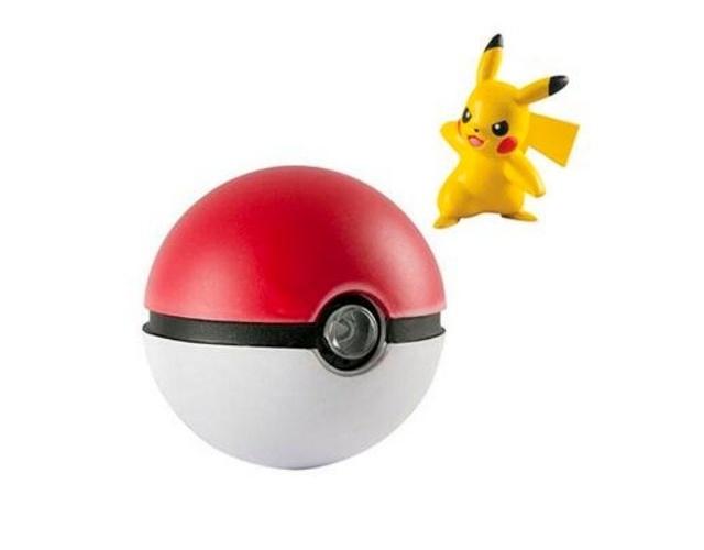 A Pokebola com luzes e sons do Pikachu custa R$ 149,90 no Walmart