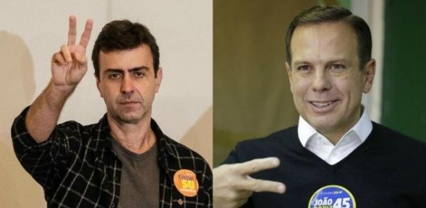 Marcelo Freixo (PSOL-RJ) e João Doria Jr (PSDB-SP)