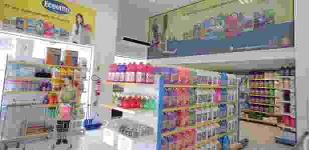 Uma loja da franquia Ecoville - Divulgação