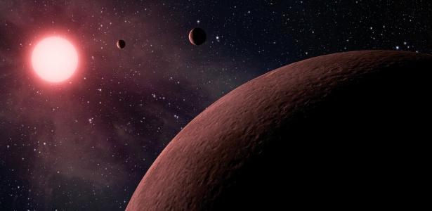 A Nasa anunciou a descoberta de 219 possíveis exoplanetas; pode haver vida em 10 deles