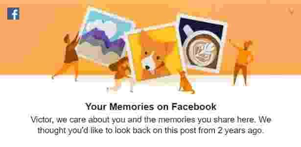 Rede social trará novidades para quem quiser relembrar -- ou até não relembrar -- memórias do passado - Reprodução