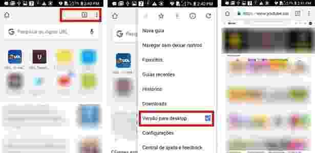 Android 1 - Veja como ouvir música no Youtube e usar em outros apps ao mesmo tempo - UOL - UOL