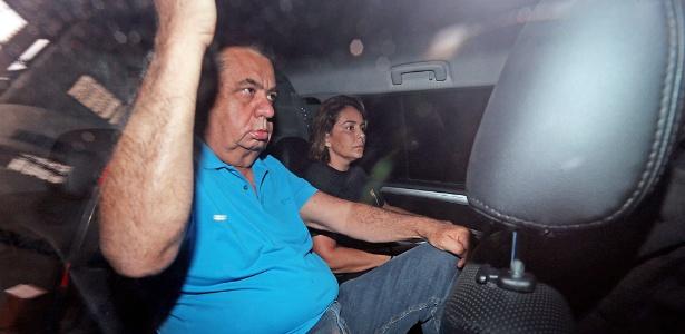 21.nov.2017 - Jorge Picciani se apresentou à PF após ter a prisão decretada pelo TRF-2