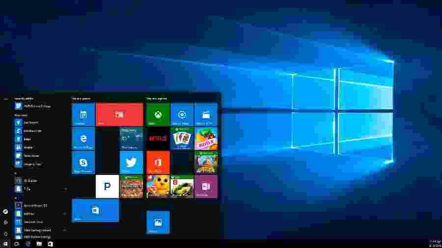 Windows 10 - Reprodução