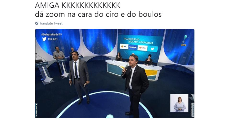 Meme Bolsonaro e Daciolo Debate da RedeTV!