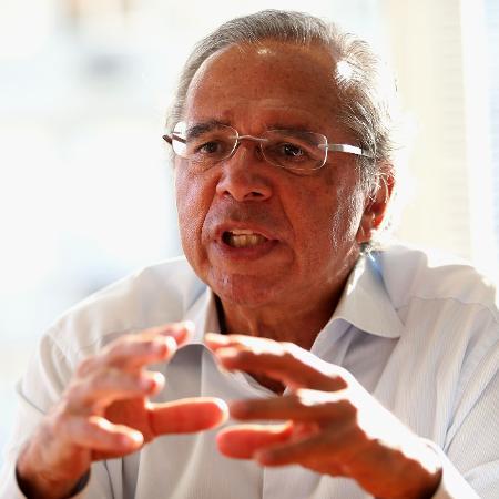 Paulo Guedes durante entrevista cedida ao Estadão, no bairro do Leblon, no Rio de Janeiro - Wilton Junior/Estadão Conteúdo/AE