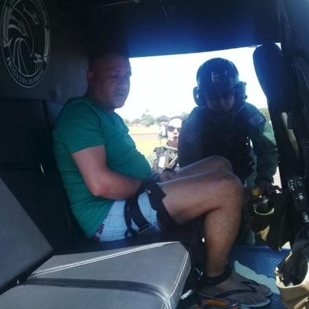 Rovilho Alekis Barboza, conhecido como Bilão, é expulso do Paraguai - Divulgação