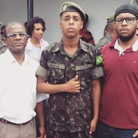 28.jan.2019 - Ademário Bispo (à esq.) está desaparecido desde o rompimento de barragem da Vale em Brumadinho - Arquivo pessoal
