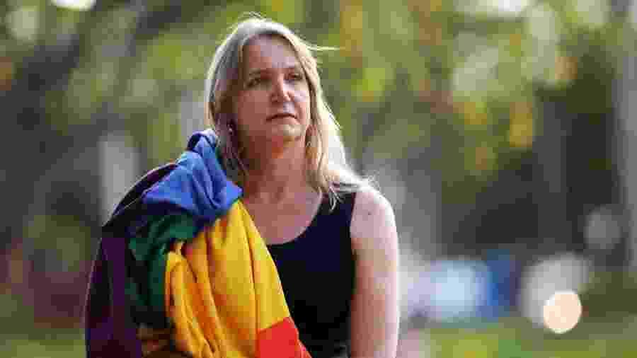 13.mar.19 - A professora Marina Reidel, diretora de promoção LGBTI do Ministério da Mulher, da Família e dos Direitos Humanos - Lúcio Távora/UOL