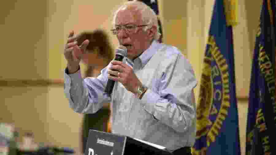 Bernie Sanders - EPA via BBC