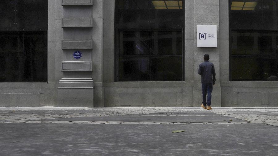 Fachada do prédio da B3, a bolsa de valores de São Paulo - Rahel Patrasso
