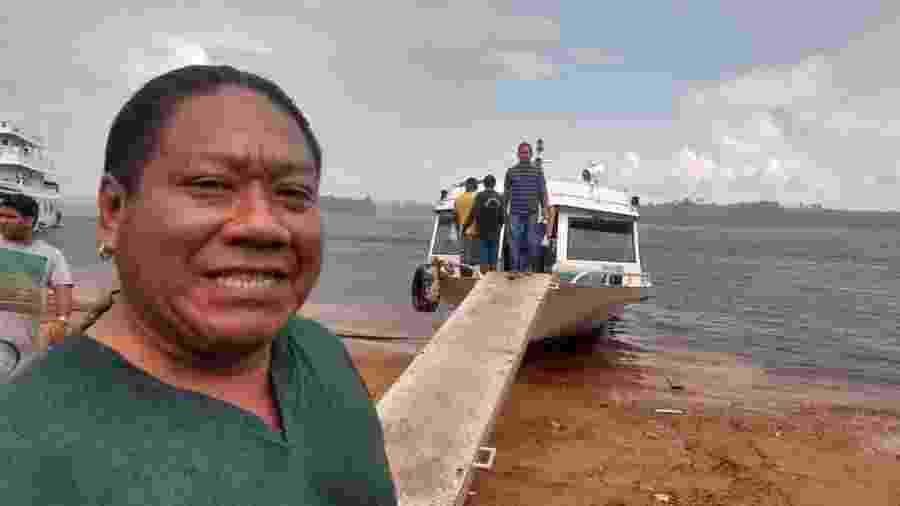O indígena Aldevan Baniwa, 46, agente de endemias em Manaus (AM), morto com suspeita de Covid-19 em 18 de abril de 2020. - Noemia Ishikawa/Álbum de família