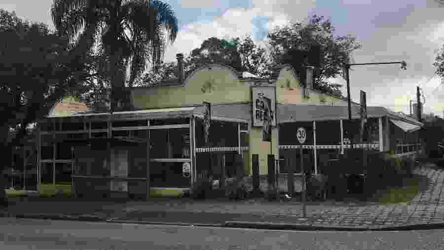 Bar CanaBenta, em Curitiba - Lucas Gabriel Marins/UOL