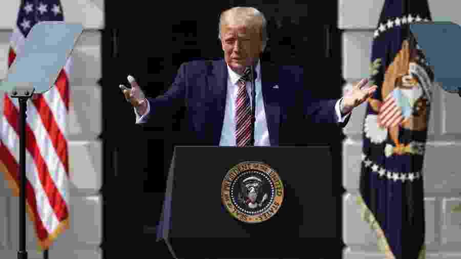 O presidente dos Estados Unidos, Donald Trump - JONATHAN ERNST
