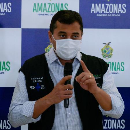 Wilson Lima (PSC), governador do Amazonas - Sandro Pereira/Fotoarena/Estadão Conteúdo - 27.jan.2021