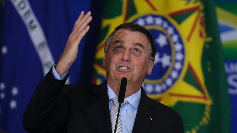 """""""O auxílio emergencial é endividamento. Alguns acham que pode dar a vida toda, não dá"""", disse Bolsonaro - Dida Sampaio/Estadão Conteúdo"""