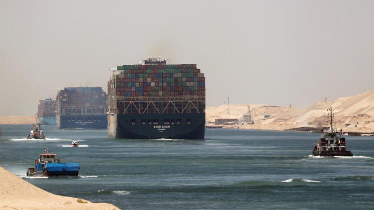 When Given Texa O Canal de Suez - REUTERS / Amr Abdallah Dalsh - REUTERS / Amr Abdallah Dalsh