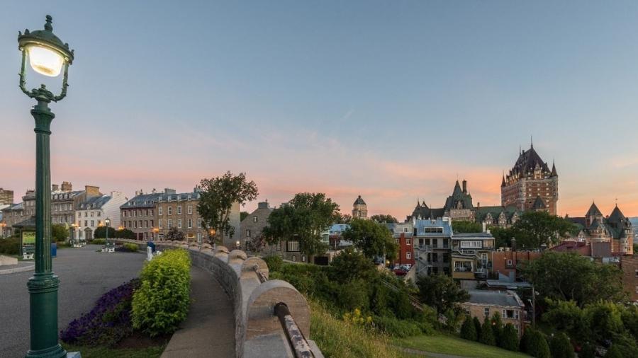 A cidade de Québec (foto) é um dos polos econômicos da província de Québec, no Canadá - Divulgação