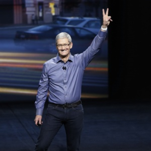 Tim Cook, director-executivo da Apple