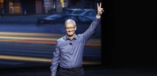 Tim Cook, director-executivo da Apple
