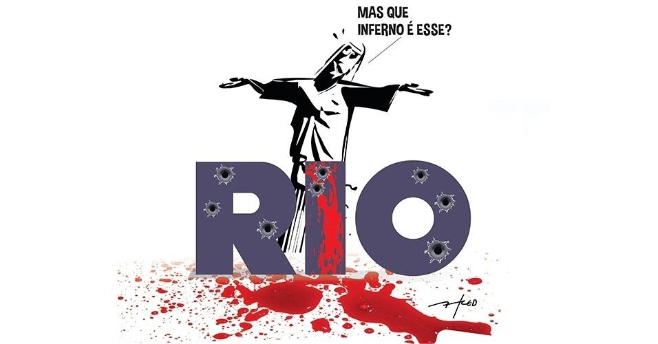 29.nov.2016 - O Cristo Redentor ainda combina com o Rio de Janeiro?