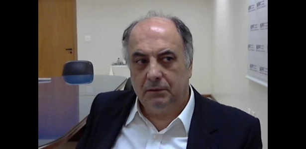 O ex-executivo da Odebrecht Hilberto Mascarenhas durante depoimento