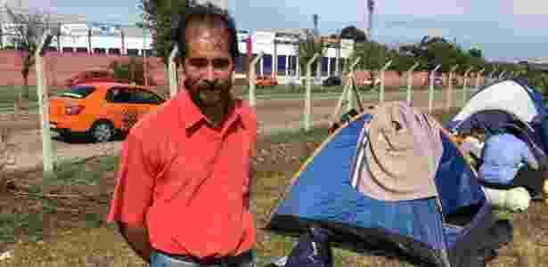 """""""Há claramente perseguição a um partido"""", diz Abílio Venâncio  - Rafael Moro Martins/UOL"""