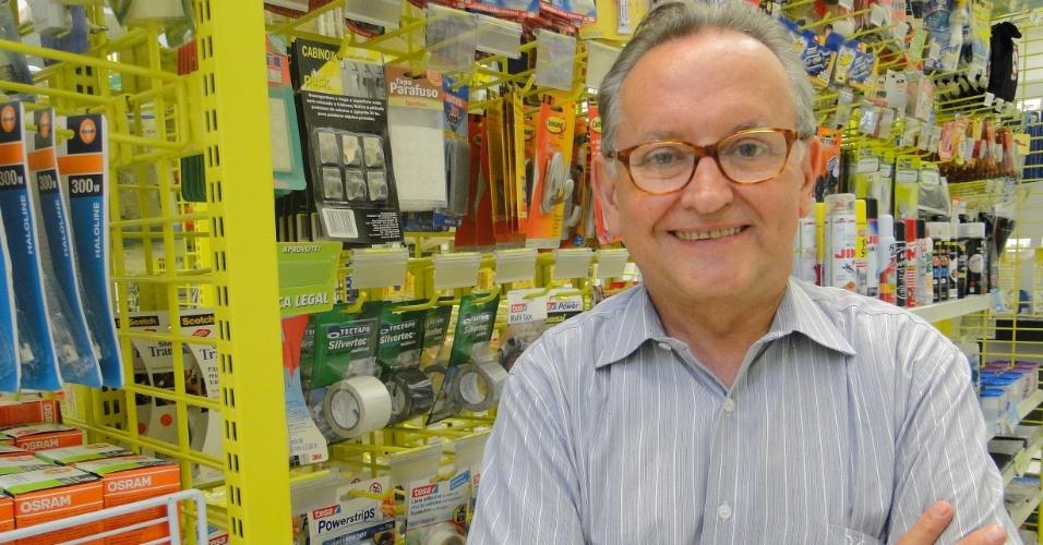 Lindolfo Martin é fundador da franquia Multicoisas