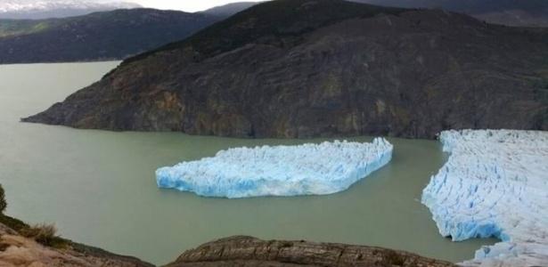 O iceberg foi visto pela primeira vez no dia 27 de novembro