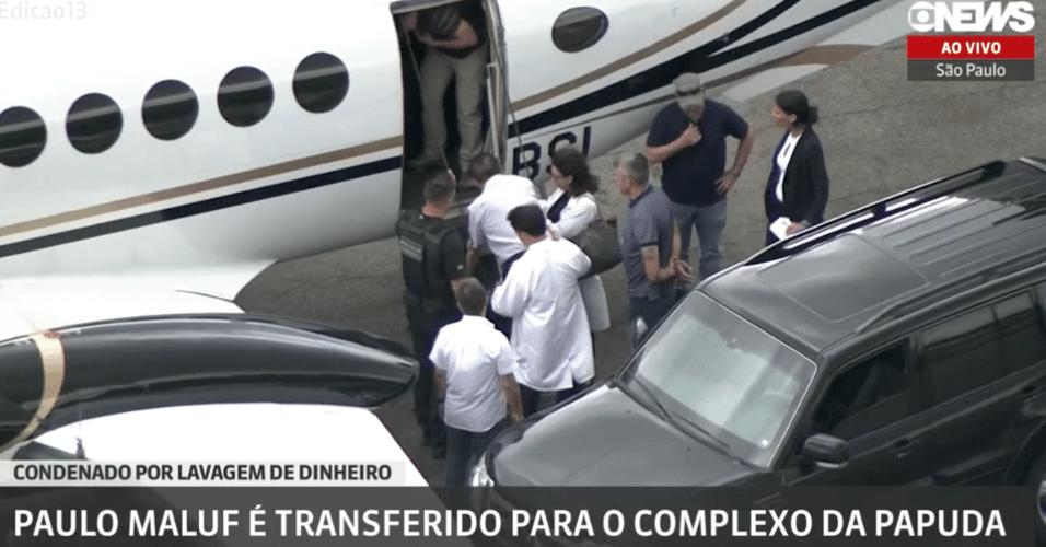 Paulo Maluf é transferido para o complexo da papuda