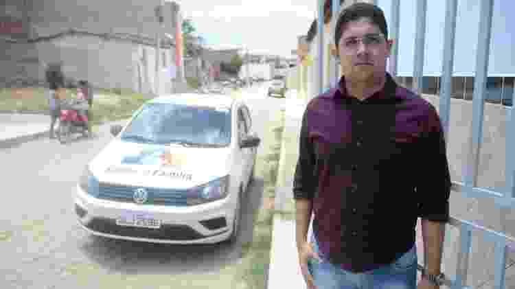 Rafael Soares é secretário municipal de Saúde de Belo Monte, em Alagoas - Beto Macário/UOL