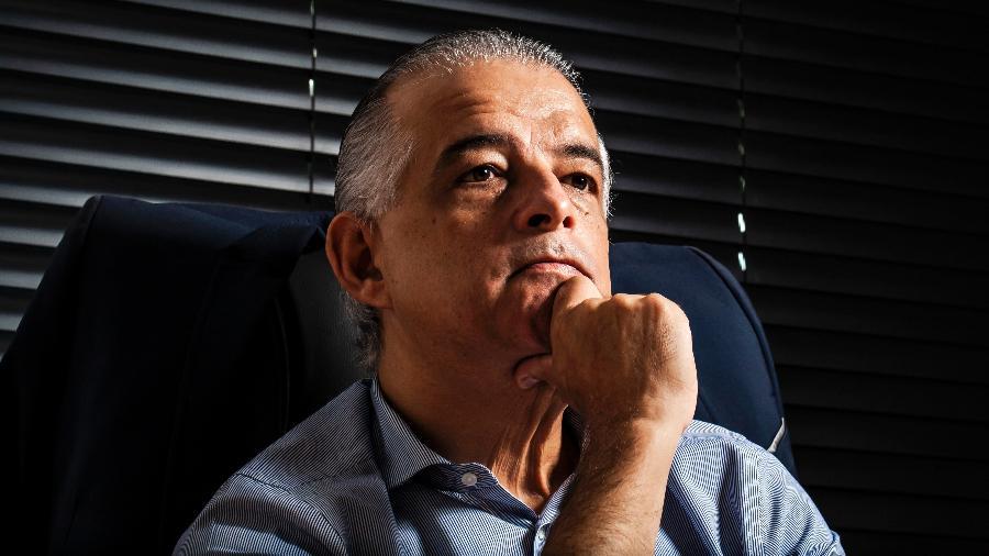 Ex-governador de São Paulo Márcio França (PSB) usou as redes sociais hoje para informar que alguém está se passando por ele - Fernando Moraes/UOL