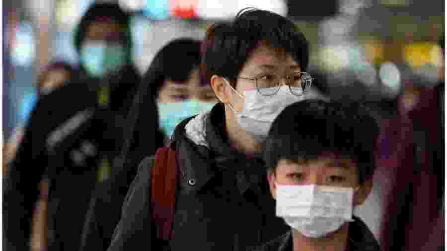Pandemia do novo coronavírus começou na China se espalhou pelo mundo - EPA