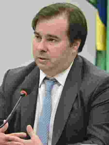 11.mar.2020 - O presidente da Câmara dos Deputados, Rodrigo Maia (DEM-RJ), durante coletiva na Casa - Por Maria Carolina Marcello