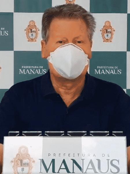 Prefeito de Manaus,Arthur Virgílio Neto, agradece doação da França - Reprodução/Twitter/@Arthurvneto