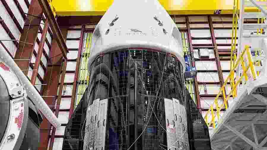 Crew Dragon da SpaceX levará astronautas a bordo pela primeira vez - Divulgação