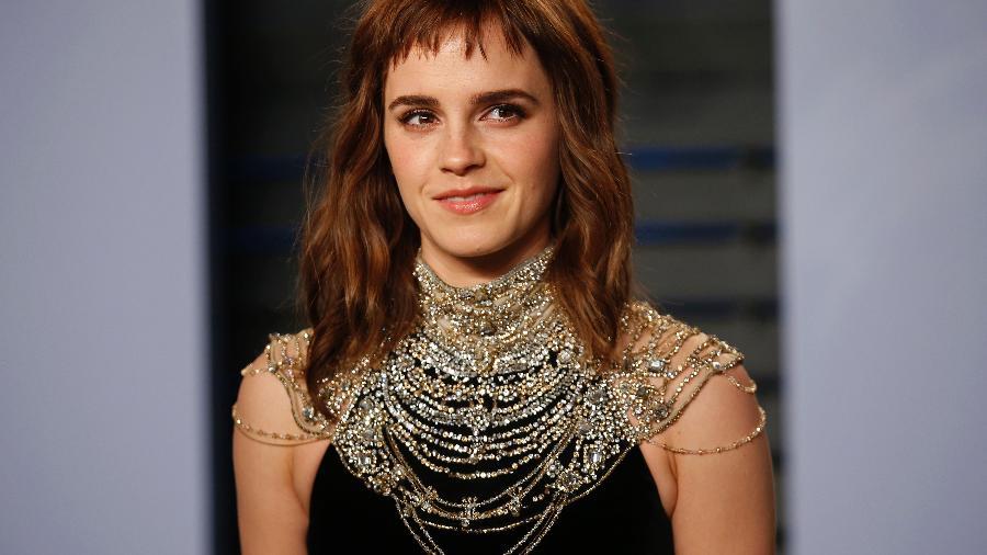 Atriz Emma Watson na festa pós-Oscar da Vanity Fair, em Beverly Hills, em 2020 - Reuters