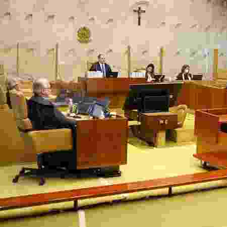 Última sessão do STF presidida por Dias Toffoli - Nelson Jr./SCO/STF