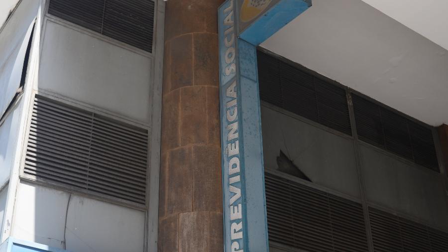 Agencia do INSS no centro do Rio de Janeiro fechada - ADRIANO ISHIBASHI/ESTADÃO CONTEÚDO