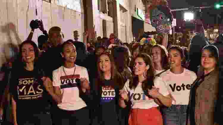O voto latino ganha mais peso a cada eleição - Getty Images - Getty Images