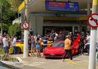 SP: Bairro nobre tem aglomeração em torno de arrancadas de carros de luxo