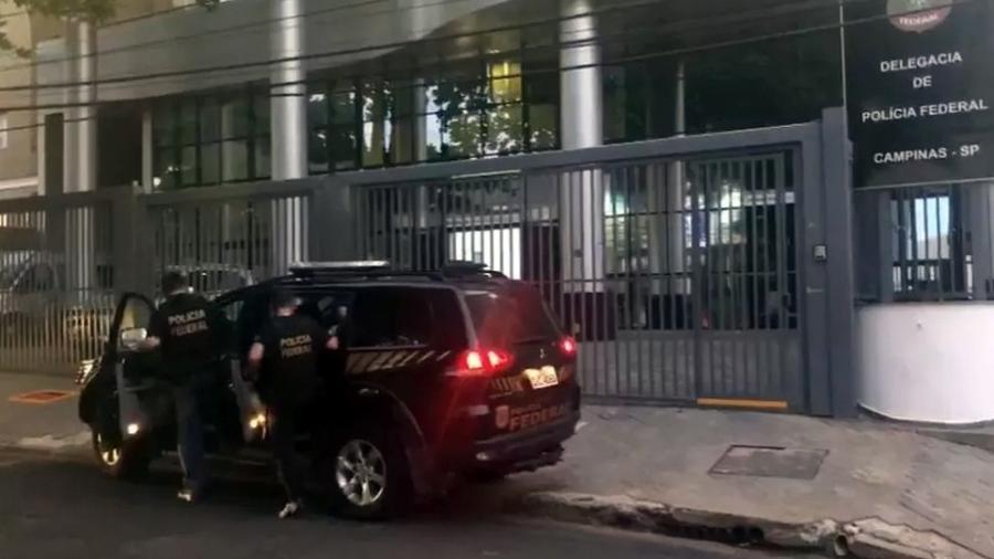 Polícia Federal de Campinas comanda a Operação Carga Implosiva - Divulgação/Polícia Federal