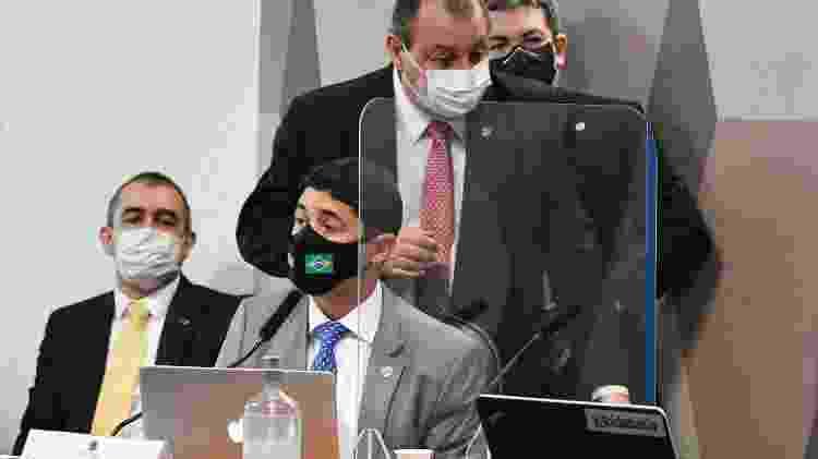 Wagner do Rosário, ministro da CGU, presta depoimento à CPI da Covid - Roque de Sá/Agência Senado - Roque de Sá/Agência Senado