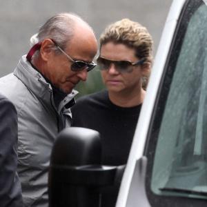 Otávio Azevedo, presidente da construtora Andrade Gutierrez, deixa a Superintendência Regional da Polícia Federal em São Paulo ao ser preso