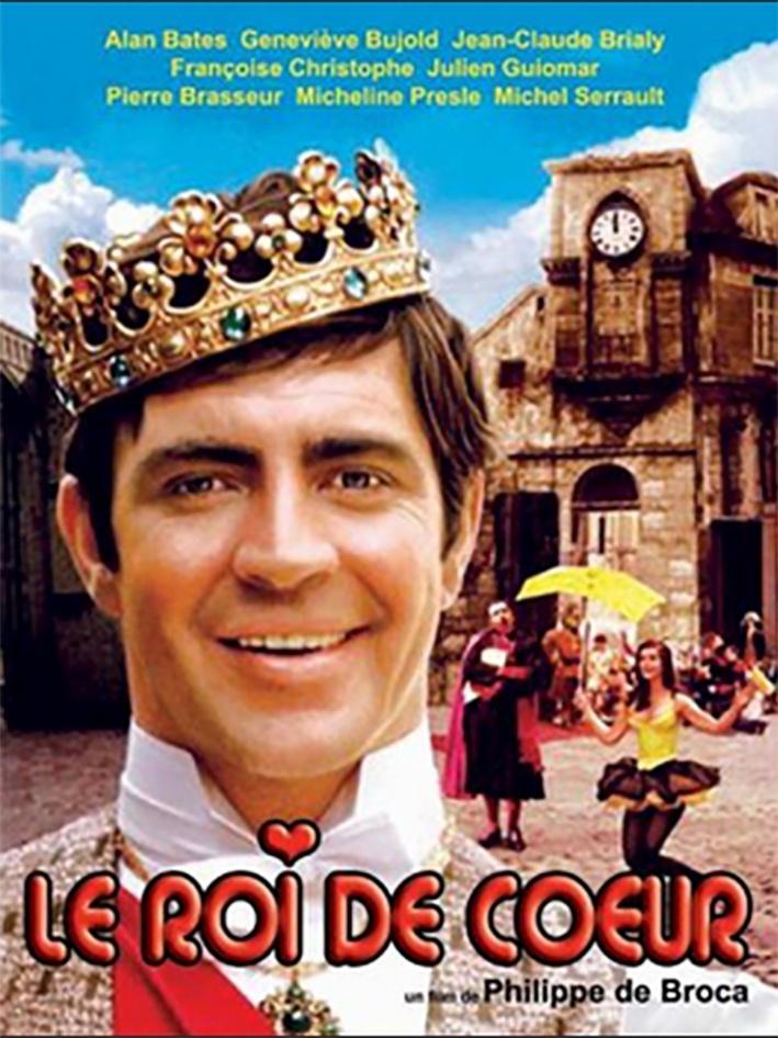 'Este Mundo É dos Loucos'' (Le Roi de Couer, 1966) de Philippe de Broca