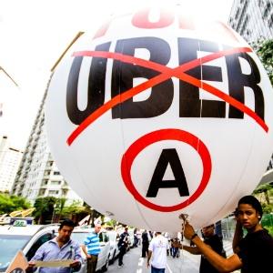 Confrontos entre taxistas e motoristas da Uber foram registrados nos últimos dias em São Paulo