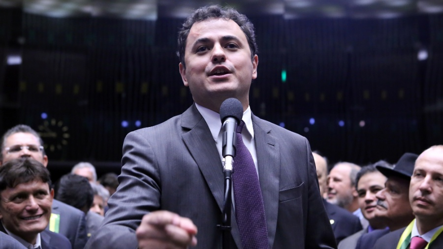 Deputado Glauber Braga (PSOL-RJ)  - Antonio Augusto/Câmara dos Deputados
