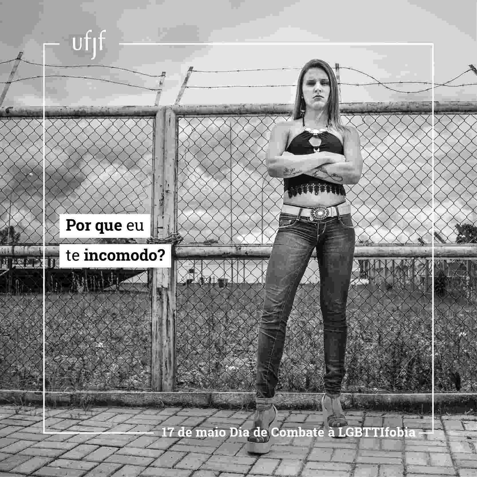 UFJF faz campanha contra LGBTTIFobia - Divulgação/UFJF