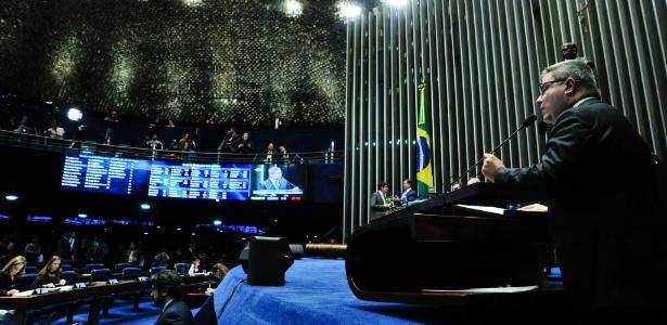 Senador Antonio Anastasia (PSDB-MG) foi um dos que declararam voto pró-impeachment -  Geraldo Magela/Agência Senado